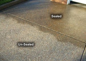 Concrete Sealing – Atlantic Care Window Cleaning